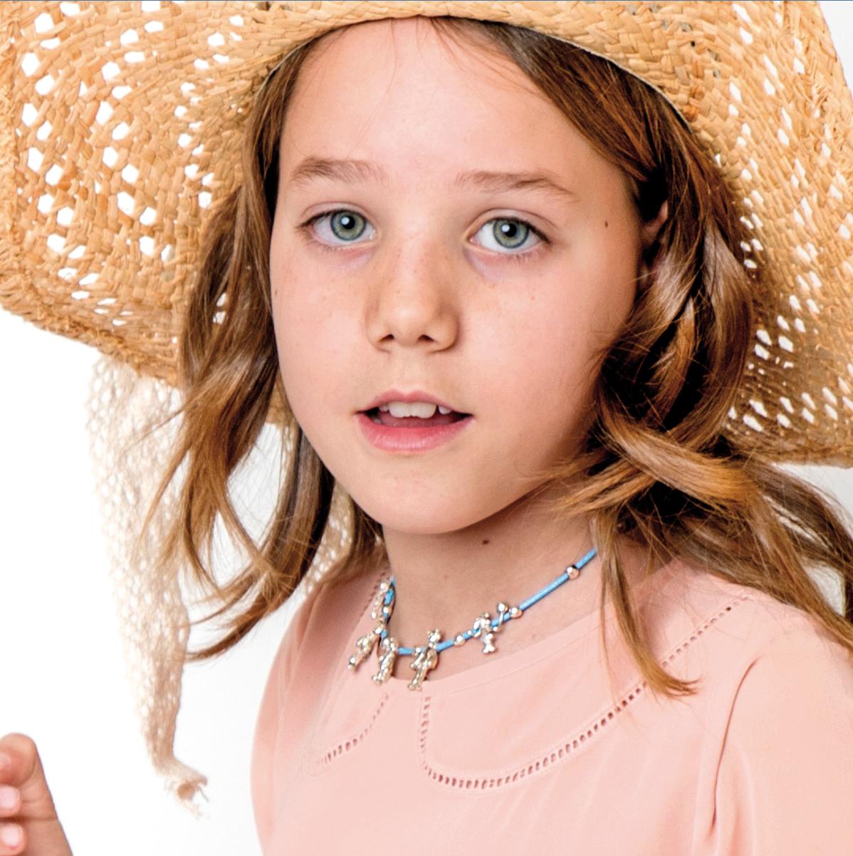 Bea Collar Small Family Classic azul