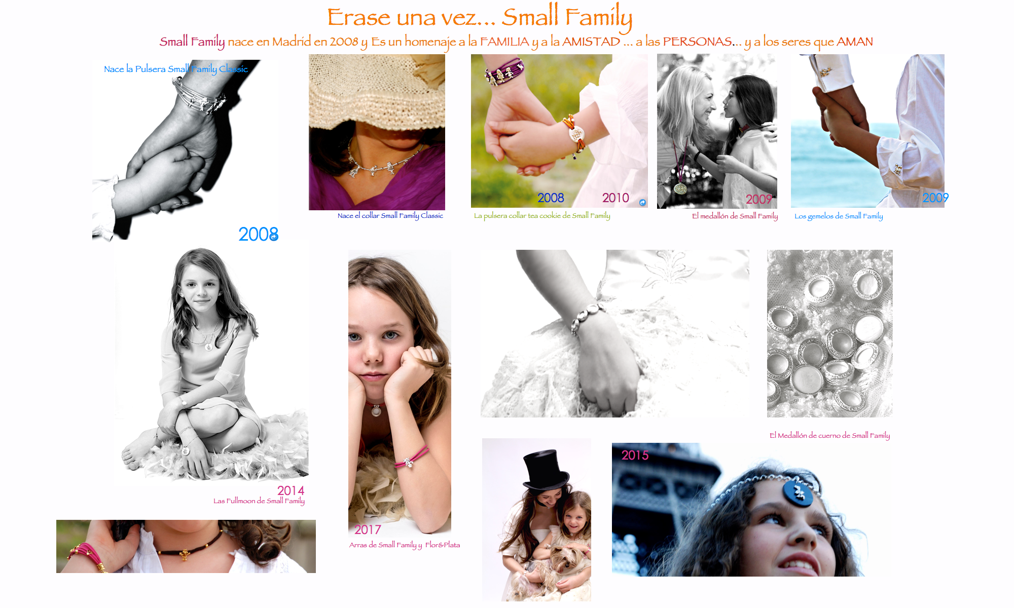Erase una vez small family