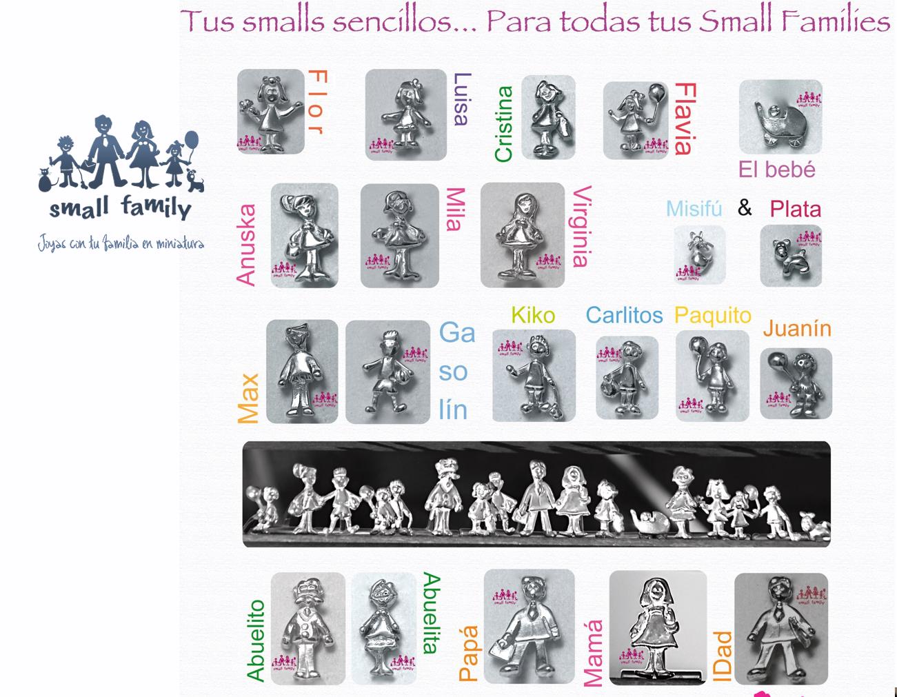 Smalls sencillos de Small Family